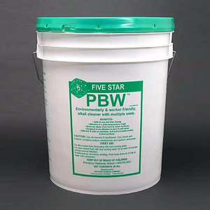 PBW - CIP cleaner