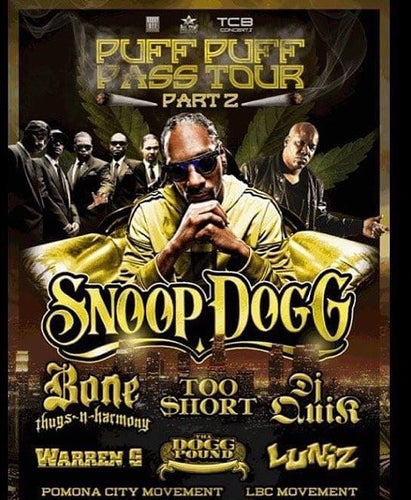 Coming Soon: Puff Puff Pass Tour Part 2 [DVD]