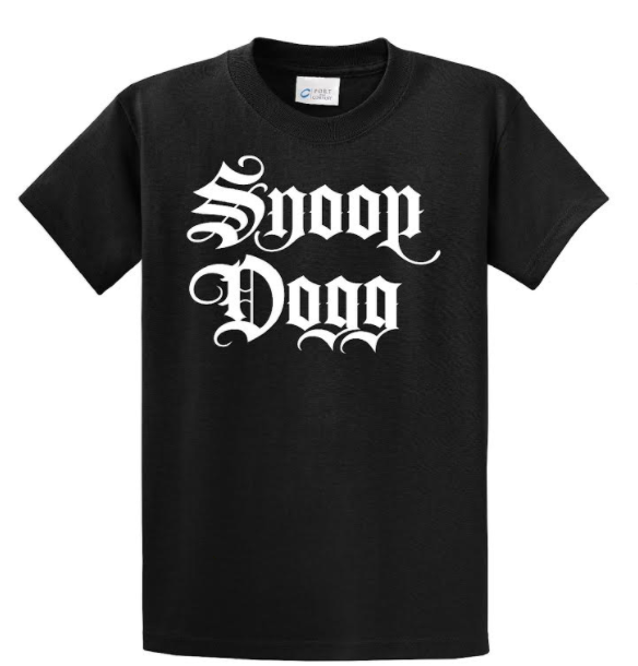 OG Snoop Dogg Logo T-Shirt