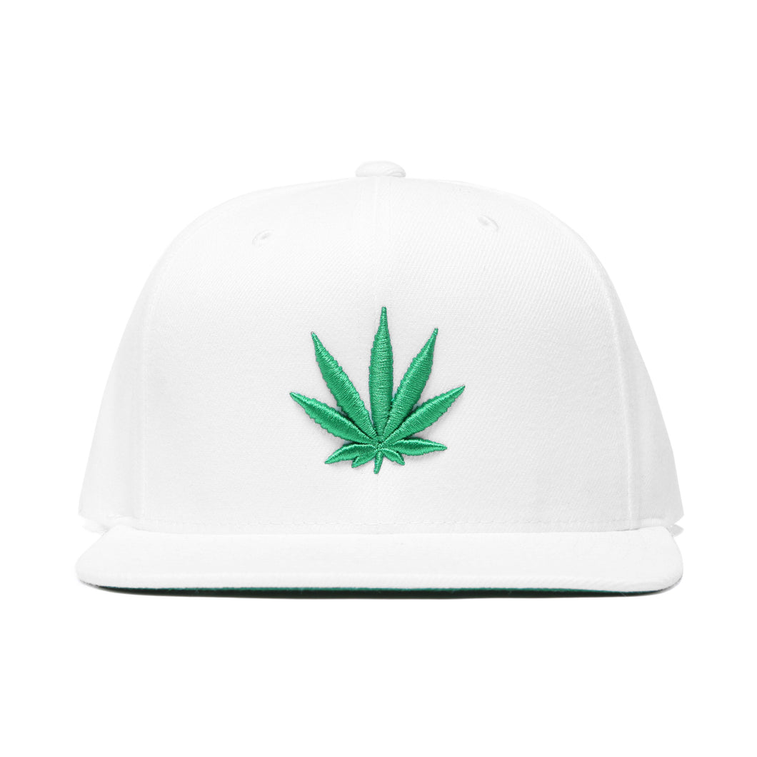 Green Leaf Baseball Hat