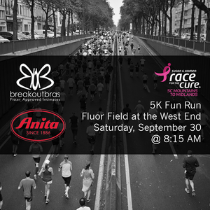 Breakout Bras Joins Race for the Cure