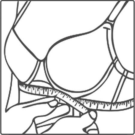 Step 2: Measure your ribcage.