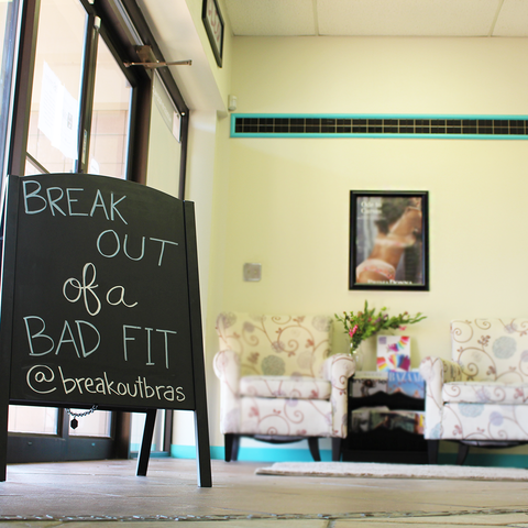 e01d87e837911 The casual atmosphere at Breakout Bras invites clients from all walks of  life to embark on their self-improvement journeys without fear of judgement.