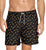 LEO Men's Printed Loose Fit Swim Trunk (505023),Medium,Shark Print Black - Shark Print Black,Medium
