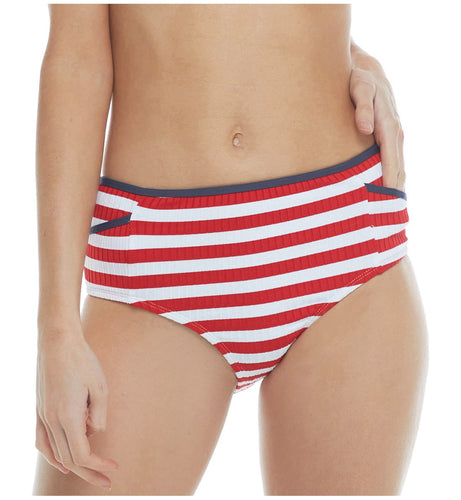 Body Glove Coastline Retro High Waist Swim Bottom (39539253)