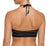 Prima Donna Maya Bikini Crop Top (400-4388),Large,Black - Black,Large