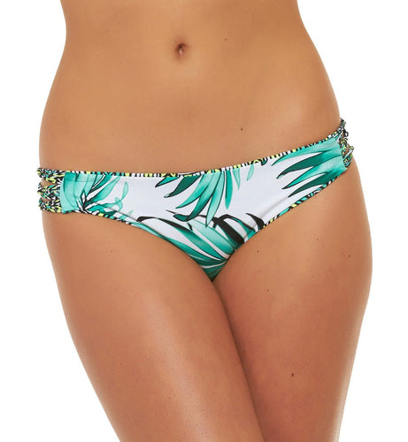 Body Glove Tropi-cal Reversible Strappy Side Cheeky Swim Bottom #39412147