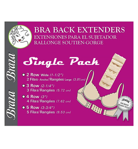 Braza Bra Back Extender SINGLE PACK (5060)