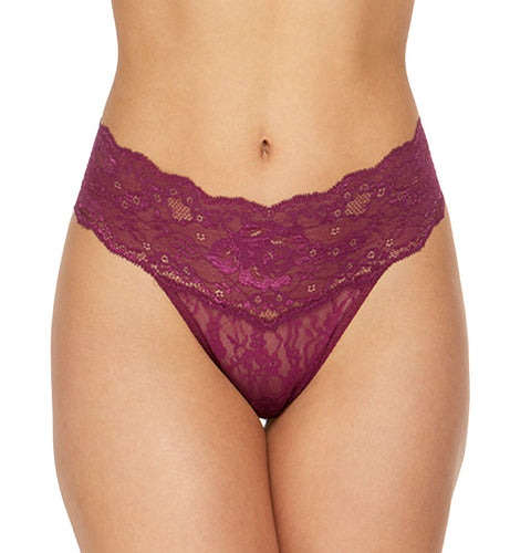 Hanky Panky American Beauty Rose Natural Rise Thong (1C1511)
