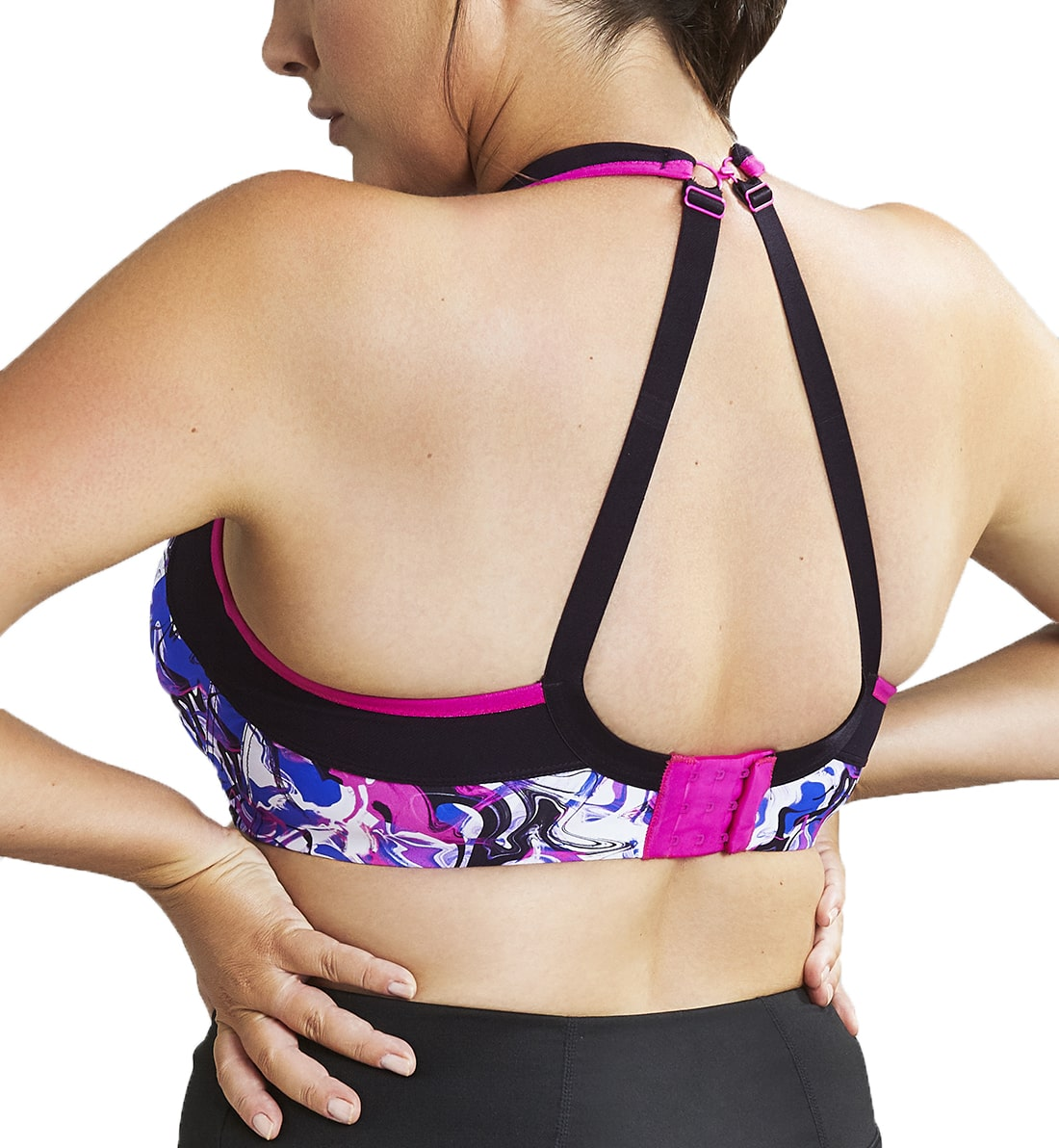Sculptresse by Panache Womens Plus-Size Non-Padded High-Impact Underwire Sports Bra #9441