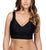 Parfait Adriana Banded Stretch Lace Wireless Bralette (P5482)- Black