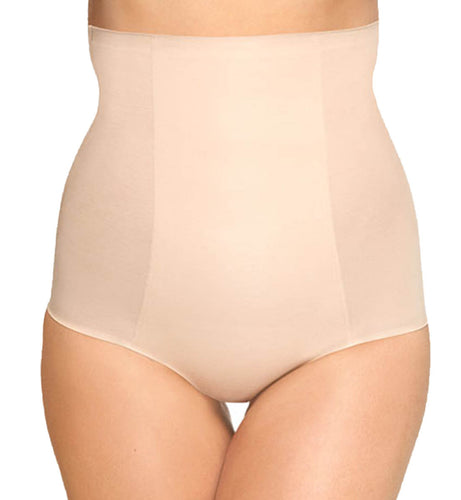 Wacoal Beyond Naked Cotton Shaping Hi-Waist Brief (808330),Large,Sand - Sand,Large