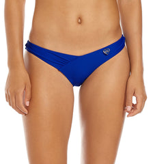 "Body Glove ""Smoothies"" Coco Ruched Dipped Front Bikini Brief #39506233"