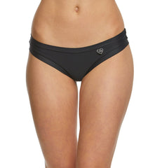 "Body Glove ""Smoothies"" Audrey Banded Bikini Brief #3950648 Black"