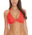 "Freya ""Sundance"" Bandless Underwire Halter Bikini Top - Orange Fizz #3971"