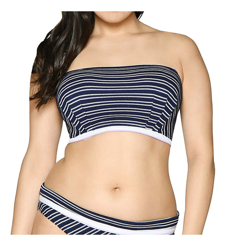 Curvy Kate Sailor Girl Multiway Bandeau Underwire Bikini Top (CS003307)