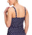 Panache Anya Spot Adjustable Side Underwire Tankini (SW1011)- Navy/Ivory