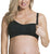 Cake Rock Candy Seamless Nursing Softcup (27-8000),Large,Black - Black,Large