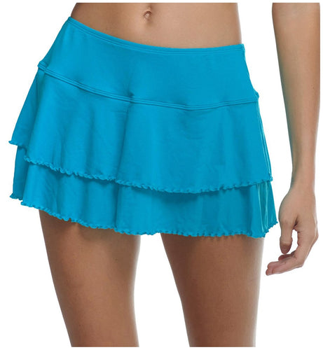 Body Glove Smoothies Lambada Frill Skirt Swim Cover Up (3910673)