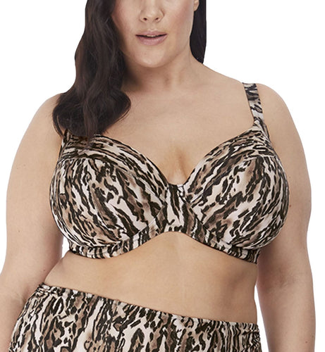 Elomi Fierce Plunge Underwire Bikini Top (ES7202)