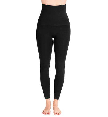 Belly Bandit Mother Tucker Legging (MTLEG),Large,Black - Black,Large
