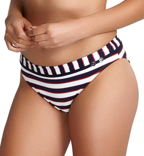 Panache Lucille Classic Swim Pant (SW1376),Small,Navy Stripe - Navy Stripe,Small