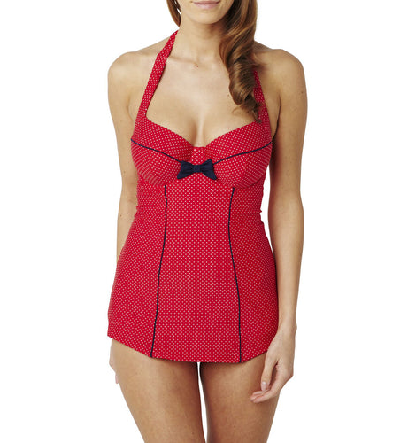 Panache Britt Halterneck Underwire One Piece Swimsuit (SW0820)