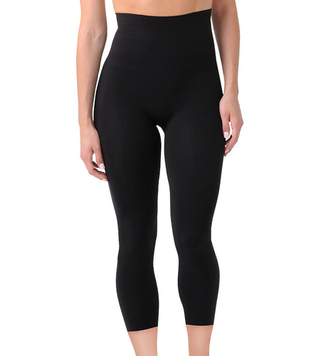 Belly Bandit Mother Tucker Capri (MTCAPRI),Large,Black - Black,Large