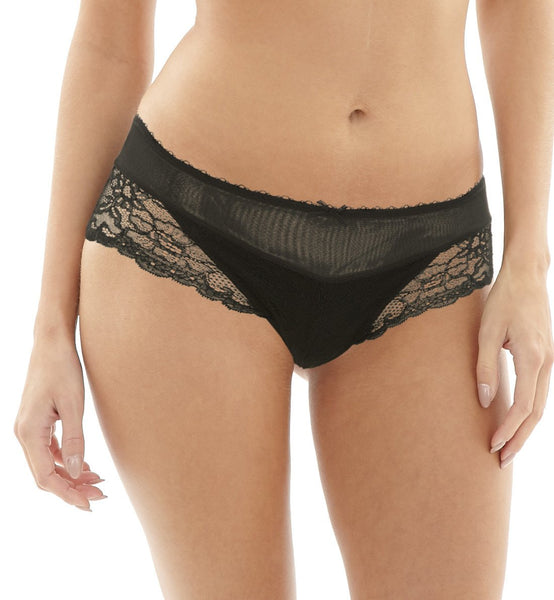Panache Jasmine Panty Brief (6955),Small,Black - Black,Small