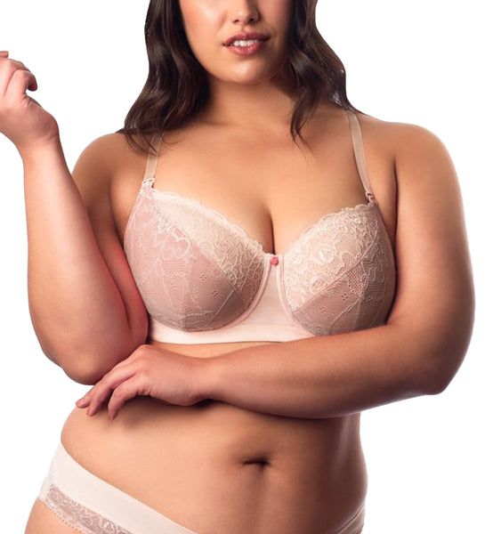 HOTmilk Temptation Flexiwire Lace Back Nursing Bra (TMP)