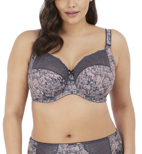 Elomi Mariella Stretch Lace Banded Underwire Bra (4420)- Hidden Tiger
