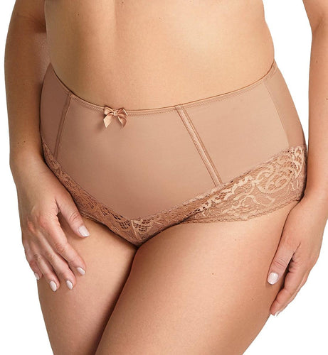 Sculptresse by Panache Estel Matching Highwaist Brief (9684)- Honey