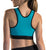 Marena ComfortWeave Easy On Zipper Front Sports Bra (100ZSB)