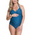 Rosewater by Cake Iced Tea Fuller Bust Maternity / Nursing 1pc. Swimsuit (61-5054)