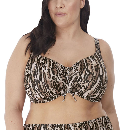 Elomi Fierce Adjustable Crop Top Underwire Bikini (ES7203)