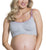 "Cake ""Cotton Candy"" Seamless Racer Back Nursing Softcup Heather Grey"