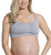 Cake Cotton Candy Seamless Racer Back Nursing Softcup Steel Grey