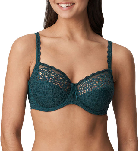 Prima Donna Twist I DO Full Cup Underwire Bra (0141603)- Deep Teal