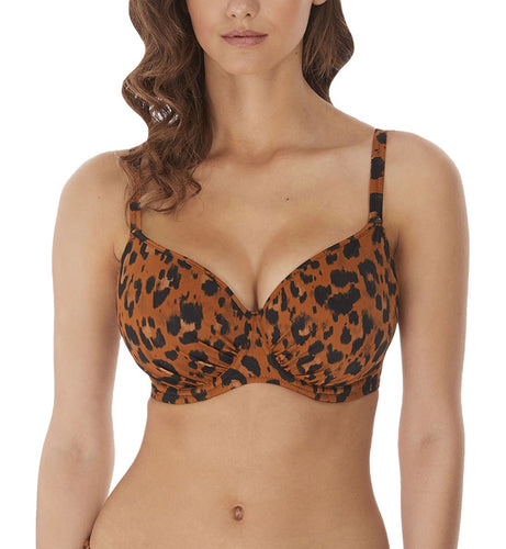 Freya Roar Instinct Underwire Idol Molded Bikini Top (6982)