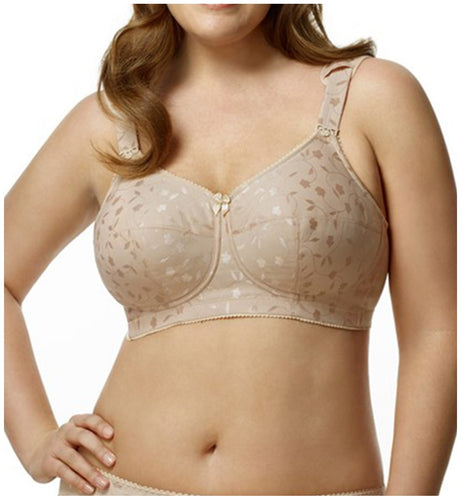 Elila Jacquard Full Support Softcup (1305)- Nude