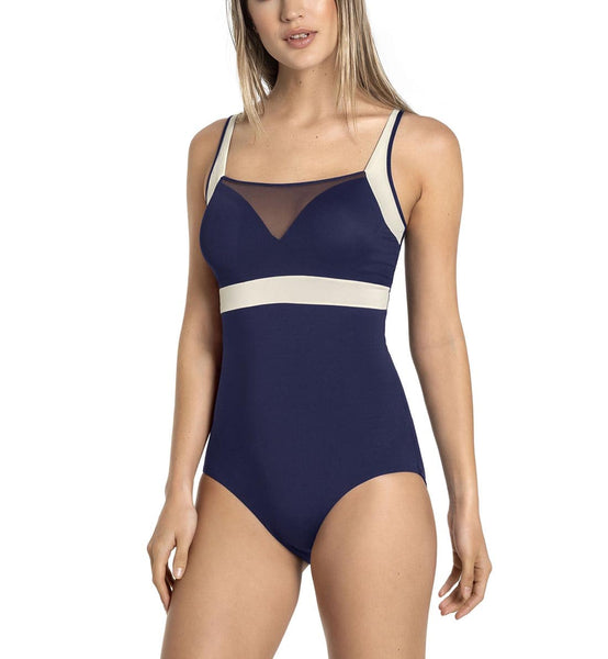 Leonisa Sporty Shaping One Piece Swimsuit (190978)