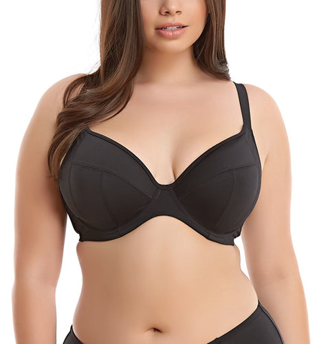 Elomi Essentials Underwire Plunge Swim Bra (ES7504)