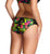 Panache Anya Print Gathered Swim Brief (SW1295)- Black Palm