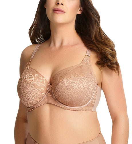 Sculptresse by Panache Estel Full Cup Underwire Bra (9685),34E,Honey - Honey,34E