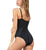 Leonisa Cross Front One Piece Shaping Swimsuit (190858)