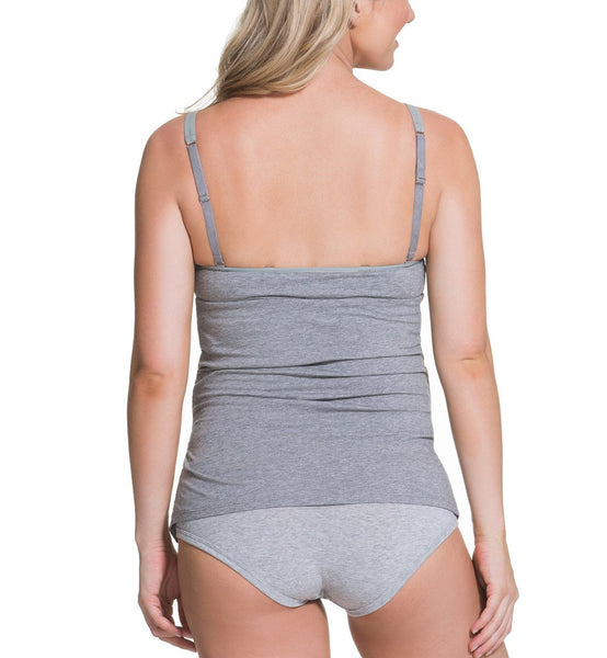 "Cake ""Gelato"" Ruched Side Cotton Maternity Nursing Tank #40-1026"