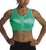 Enell Sports Bra #100 (Biscay Green)