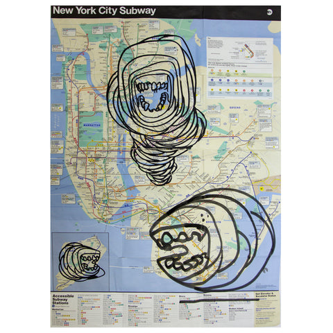 SUBWAY NYC LVC MAPS