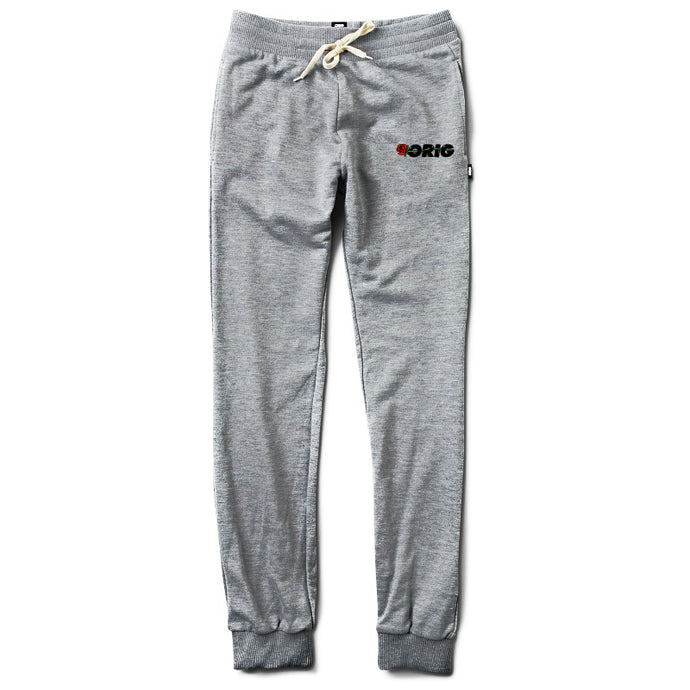 ORIG PANTS WRITING IN ROSES HEATHER