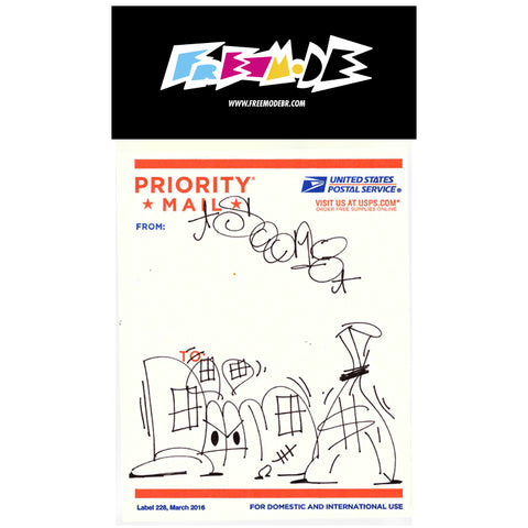 STICKER PACK FREEMODE PRIORITY MAIL